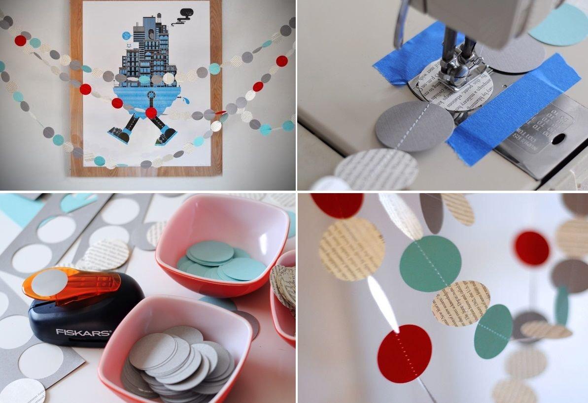 Идеи из цветной бумаги в домашних условиях