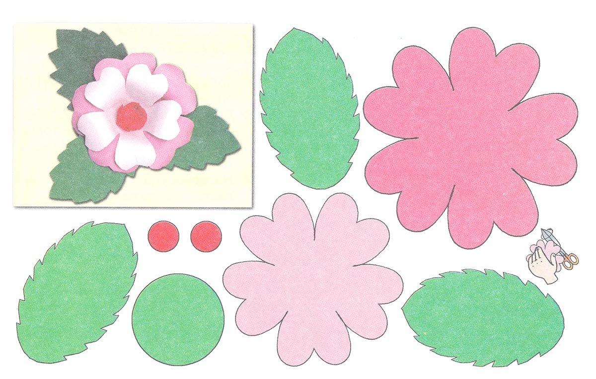 Любовью, шаблоны для открыток цветы своими руками