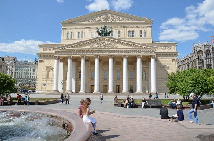 Большой театр. Москва. Россия