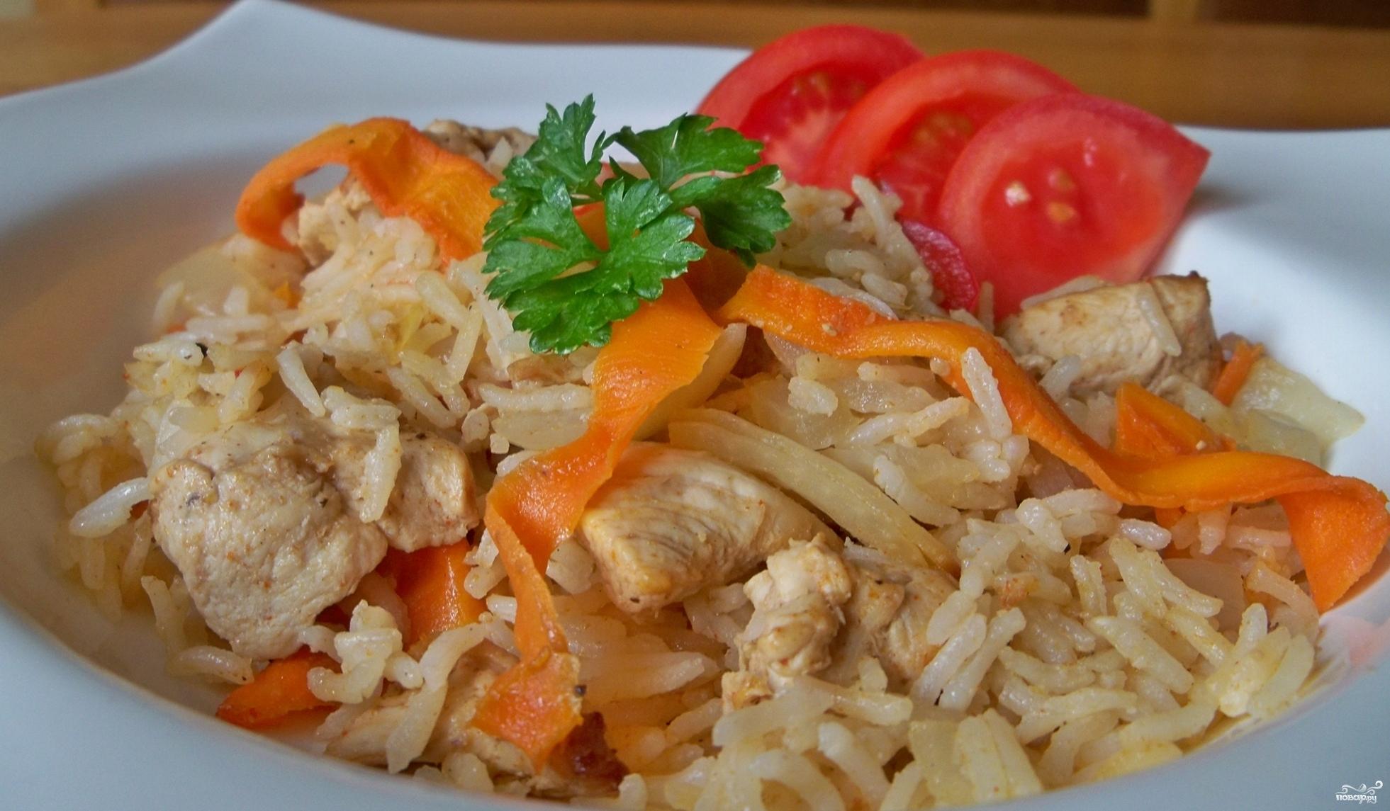 Курица с рисом в духовке: рецепт с фото пошагово Легкие рецепты