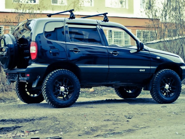 """Chevrolet Niva 2018 >> """"Тюнинг Нивы Шевроле"""" — card from user Chehdr in Yandex.Collections"""