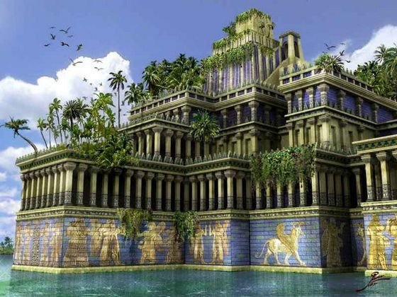 a history of the hanging gardens of babylon The hanging gardens of babylon are thought to have been built in the ancient city of babylon even though there is no proof that they actually existed, they are considered to be one of the seven wonders of the world.