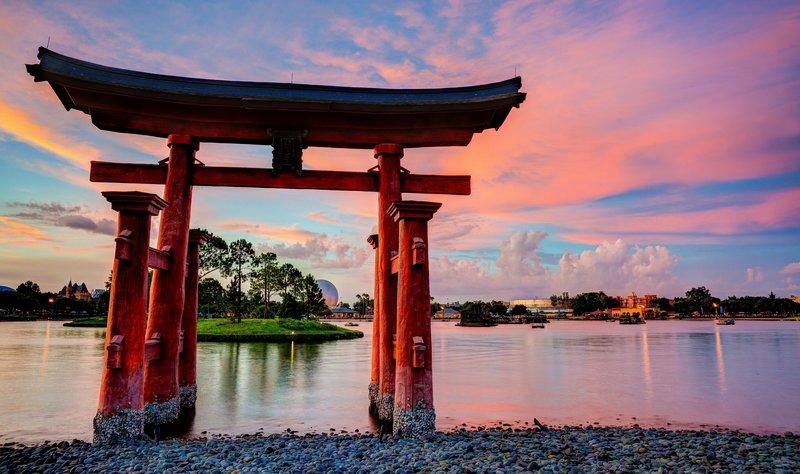 Морские ворота Япония