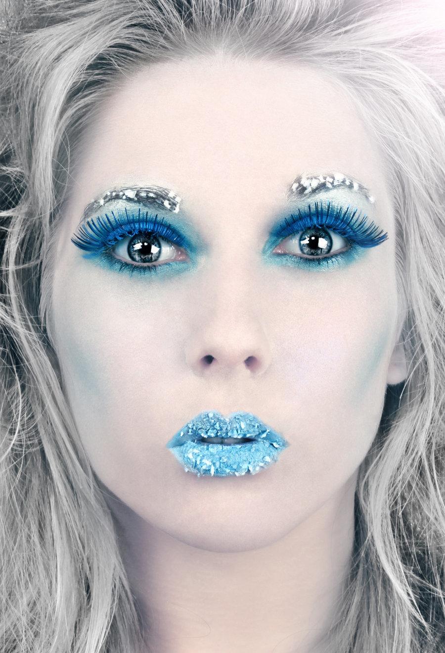 Картинки по запросу зимний макияж