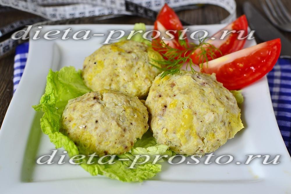 диетическое блюдо из цветной капусты рецепты
