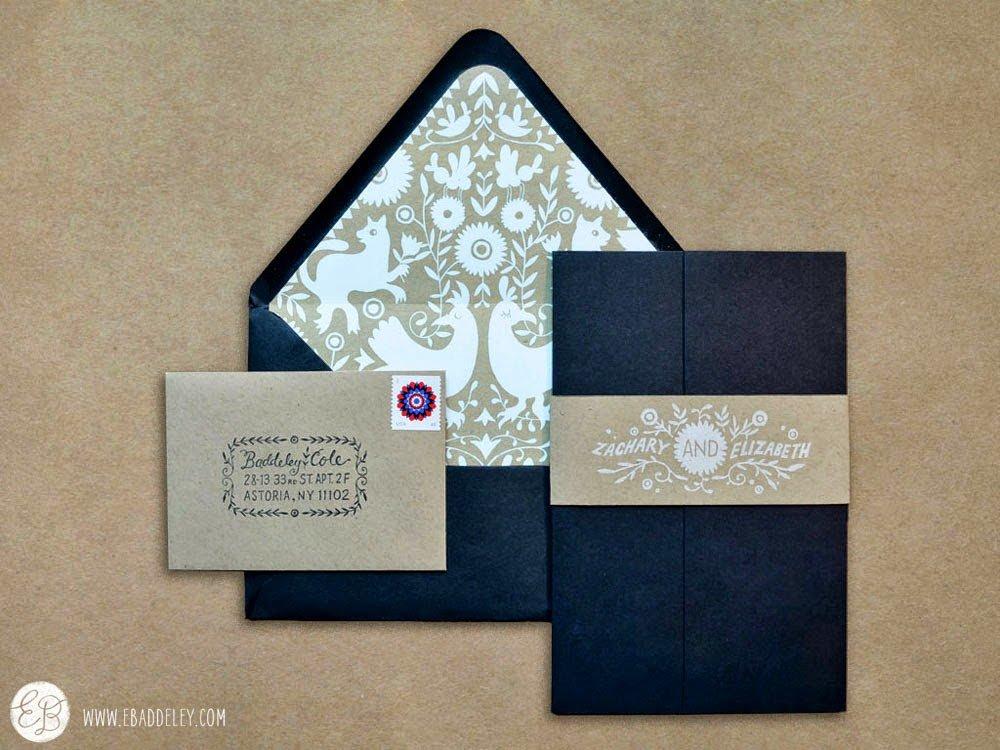 Дизайн открытки приглашение, января