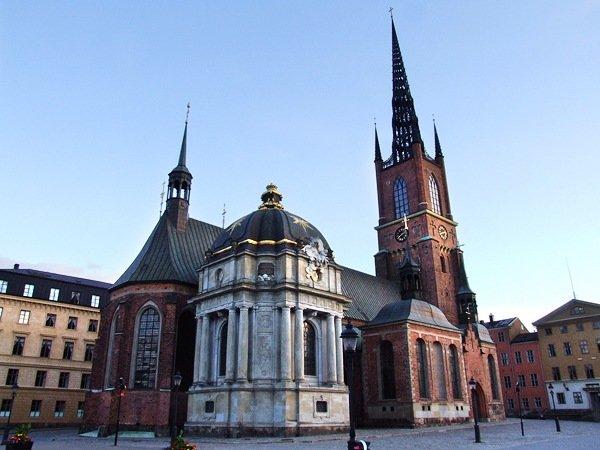 Церковь Риддархольм, Стокгольм, Швеция