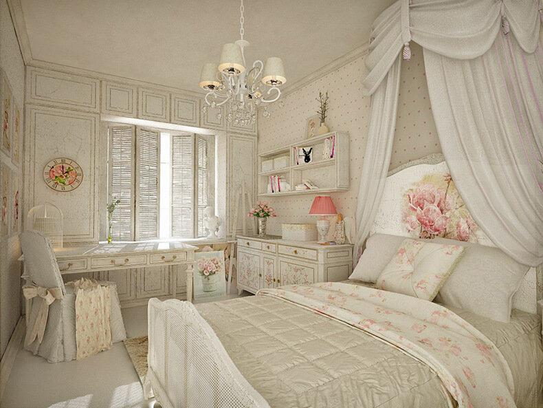 Нежный, слегка меланхоличный, но прежде всего, чрезвычайно теплый – таким выглядит интерьер квартиры женщины, выбравшей соблазнительный и очень элегантный стиль шебби. Однако, романтика может царить не только во всей квартире, а поселиться только в спальне, отражаясь в подборе мебели, мягкой пастели и легких аксессуарах. Добро пожаловать в царство шебби шик. Что-то старое, рассказывающее свою замечательную