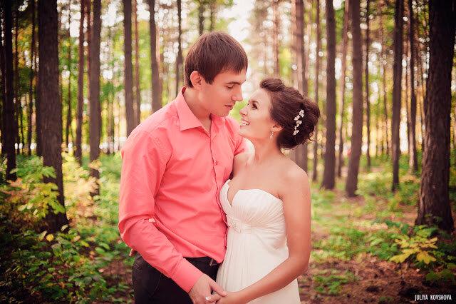 Солнечная сентябрьская свадьба.