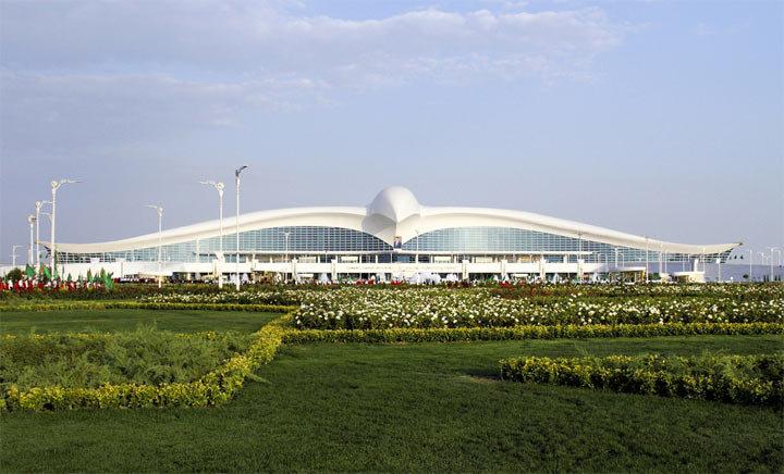 Аэропорт Ашхабада, Стоимостью 2,3 Миллиарда Долларов.