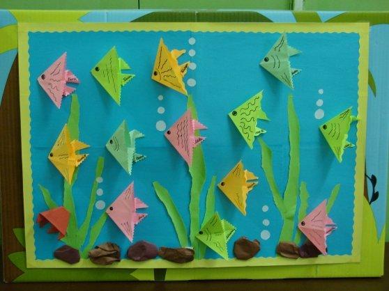 нелегкое картинки оригами аквариум имел никаких особых