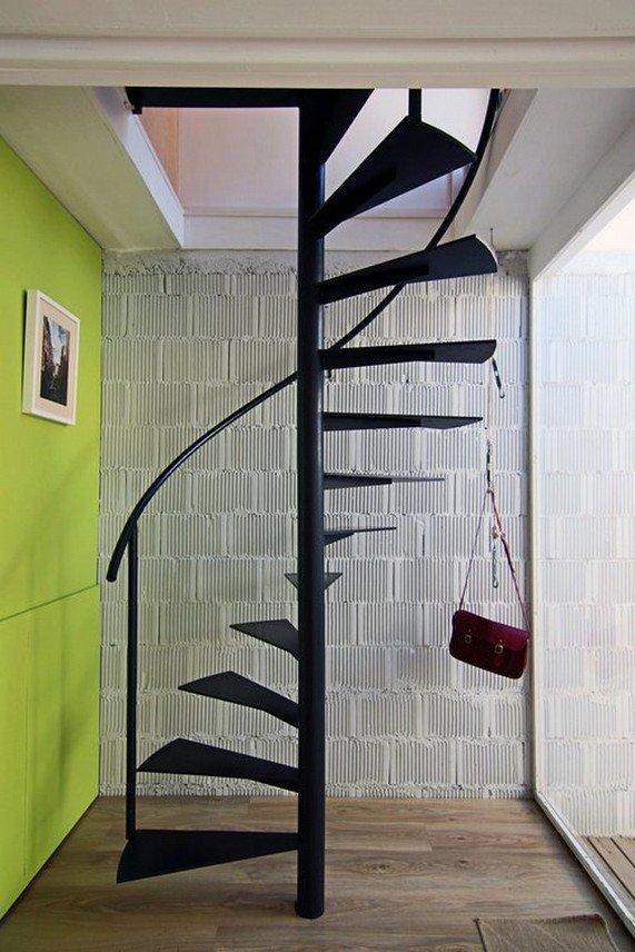 Лестница из металла своими руками 3хсекционая