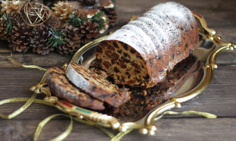 Рецепт рождественского штоллена