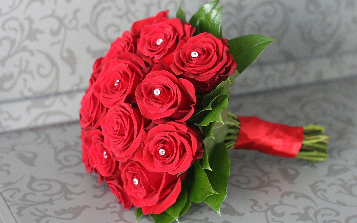 Свадебный букет из роз купить минск