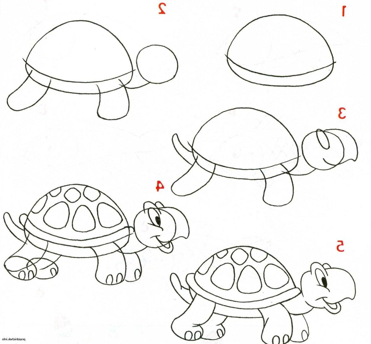 Картинки для детей рисовать с 9 лет, своими