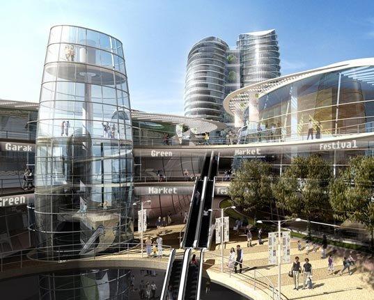 Новости IT. Новости Дизайна. Новости компьютерной графики Новая архитектура центра Сеула