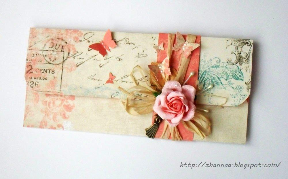 Моя вторая, конверты под открытки своими руками