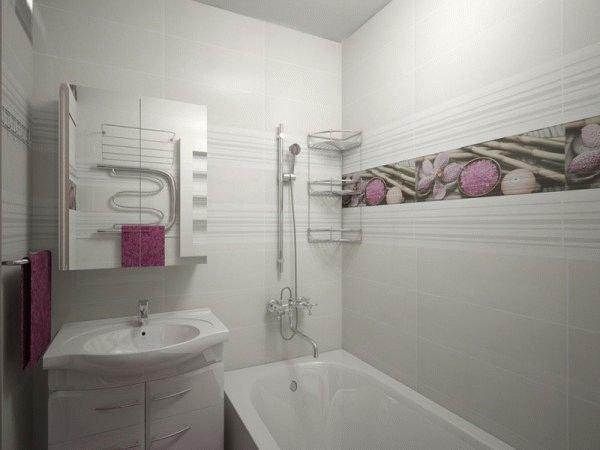 какая плитка для маленькой ванной особое внимание обратить