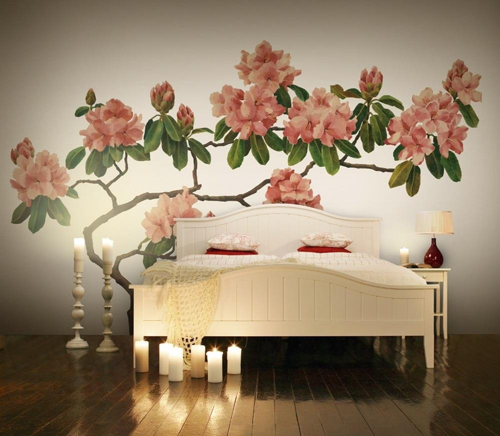 Картинки с цветами на стену, медведя смешная прикольные
