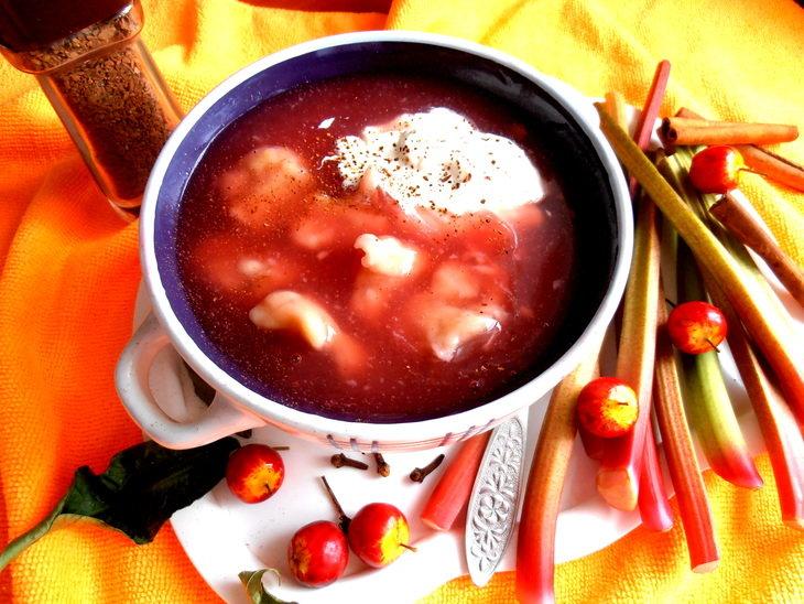 Варианты подачи сладких супов фото