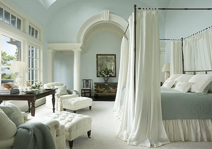 Симметрично-осевые композиции, регулярная система планировки, сдержанность декоративного убранства- свойственны для классицизма. Классицизм как интерьерное направление останется на века.