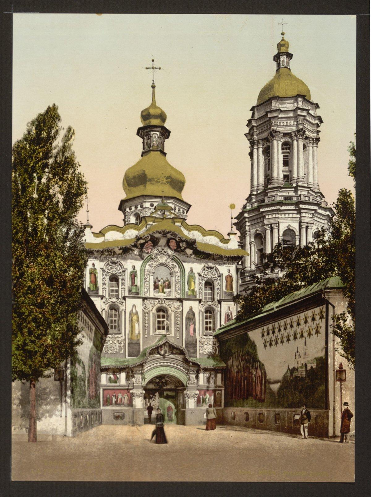 Церкви на старых открытках