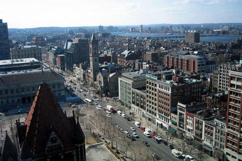 Бостон, неофициальную столицу Новой Англии, давно называют «Американскими Афинами»