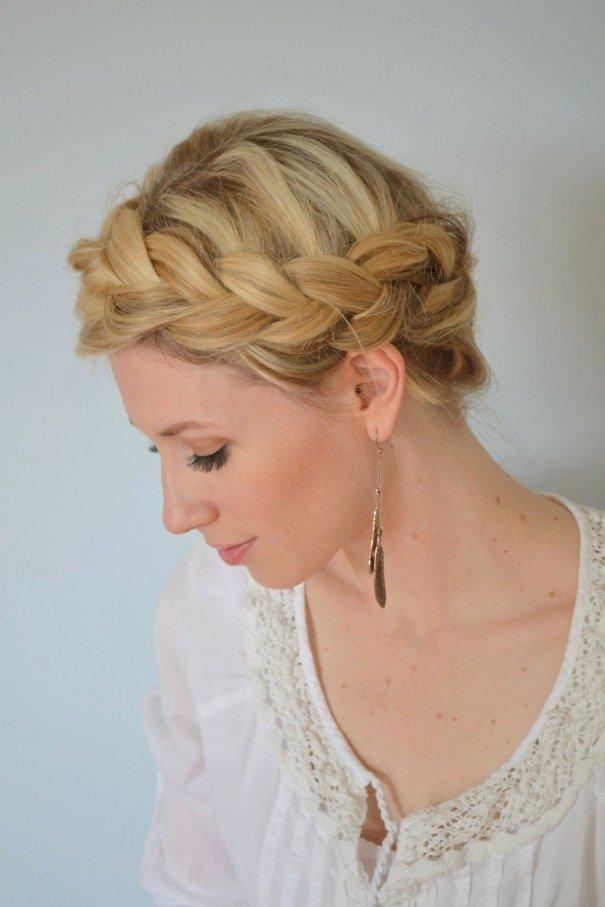 блондинка с косой любительские фото