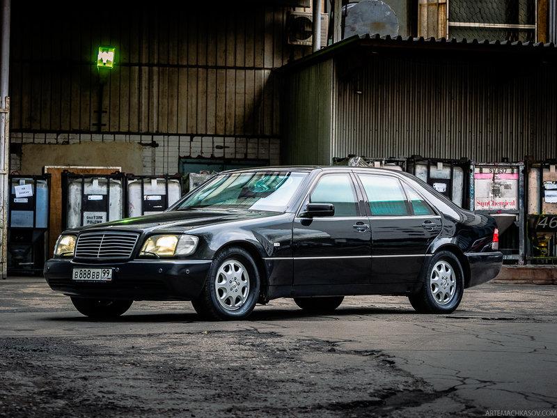 Бронированный автомобиль Mercedes-Benz S600