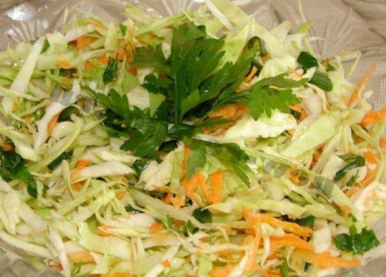 салат с капустой яблоком и морковью