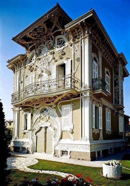 Стиль ар нуво (фр. art Nouveaux - новое искусство) или модерн (фр. Moderne - новейший, современный) - направление в архитектуре конца XIX - начала ХХ веков.
