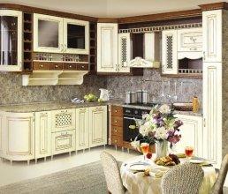 Заказывая кухонную мебель, каждый из нас желает, чтобы интерьер, созданный с её помощью, радовал и дарил комфорт долгое время. В нашем каталоге кухонь Вы можете ознакомиться с различными дизайнерскими решениями, реализованными в уже созданных проектах кухонь. Большое значение играет материал, из которого выполнена Ваша кухня. Это может быть массив, МДФ, ДСП. На сегодняшний день, производители кухонной мебели способны удовлетворить запросы самых требовательных заказчиков.