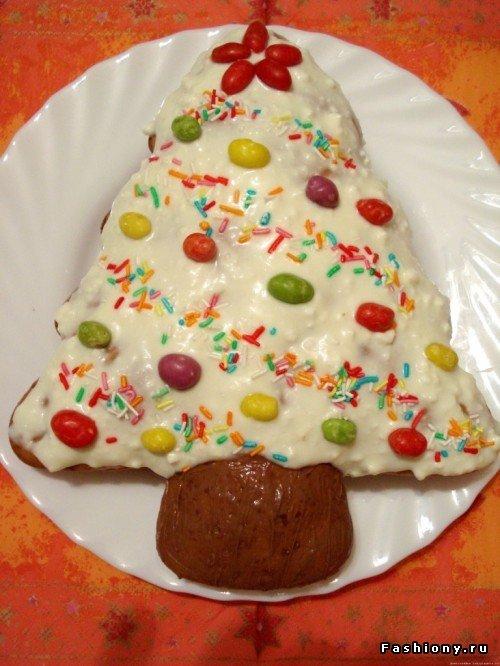 Фото массовых тортов с новогодней тема