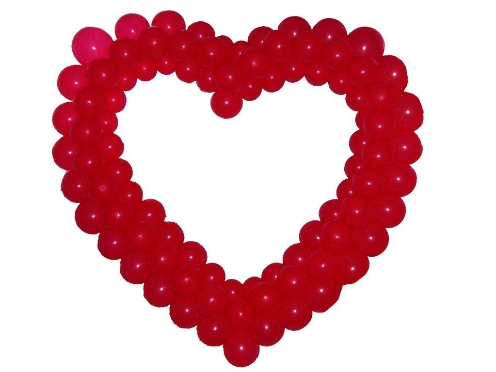Сердце из шаров своими руками в картинках речь пойдет