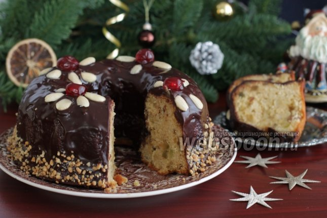 Рождественский кекс рецепт с фото