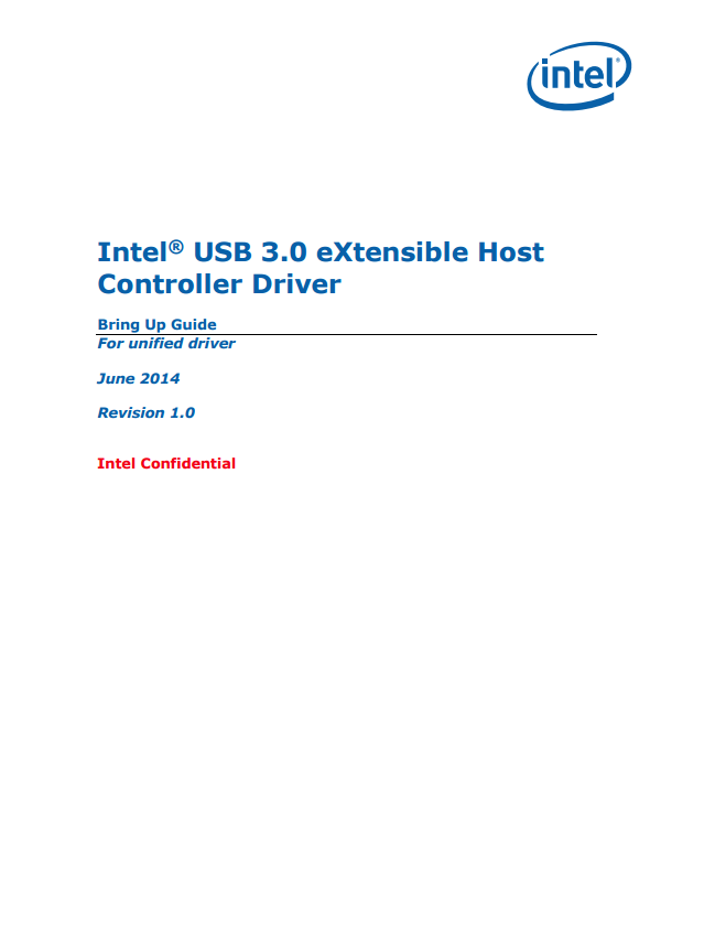 what is usb 3.0 extensible host controller
