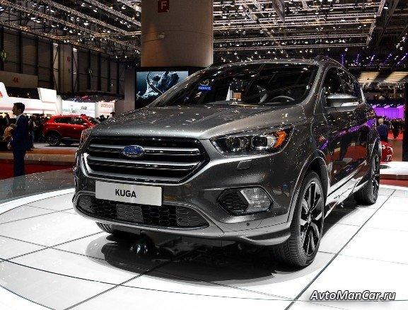 Ford Kuga 2016-2017 - 2 поколение