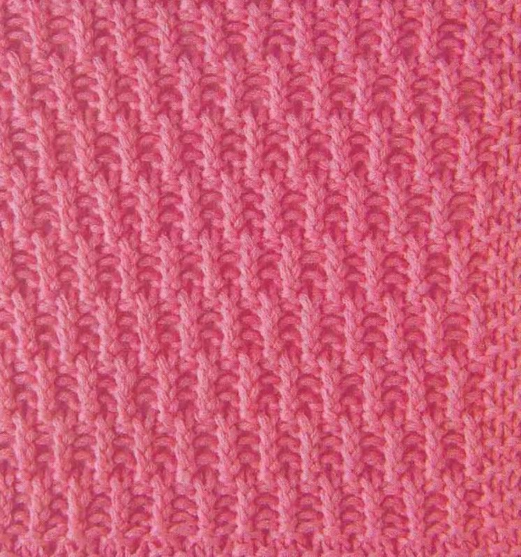 плотный узор вязания спицами фото использованием