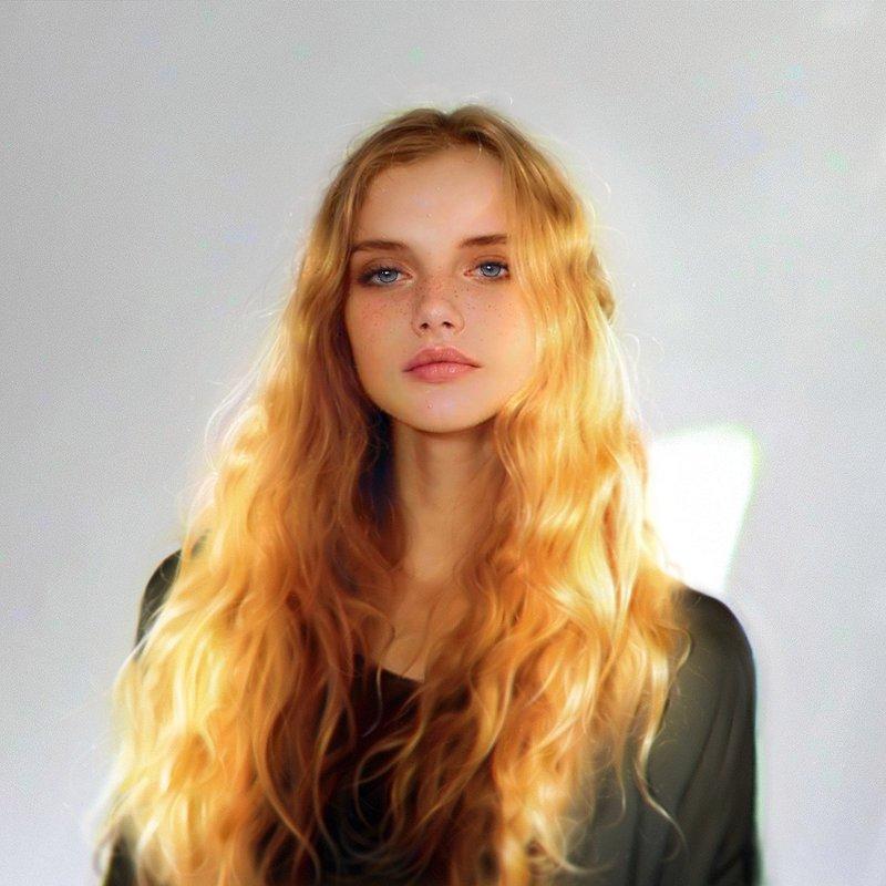 кучерявые блондинки фото