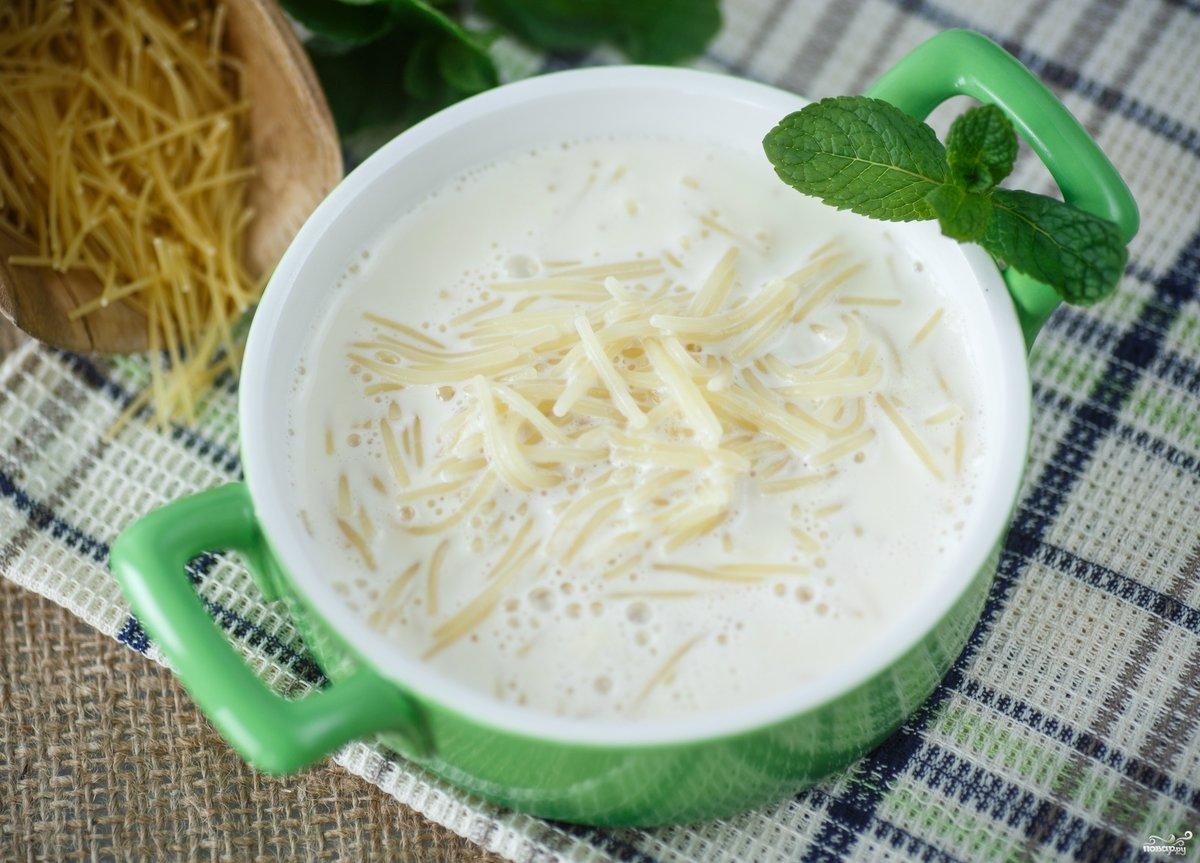Как приготовить молочный суп в домашних условиях.
