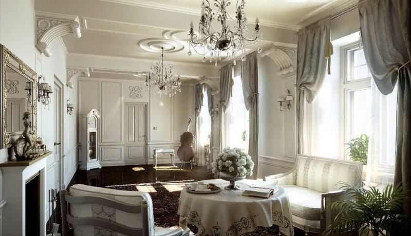 Истоки стиля классицизм лежат в далекой античности, из которой декораторами и архитекторами извлекались самые выдающиеся и величественные элементы, не перегруженные излишними деталями.