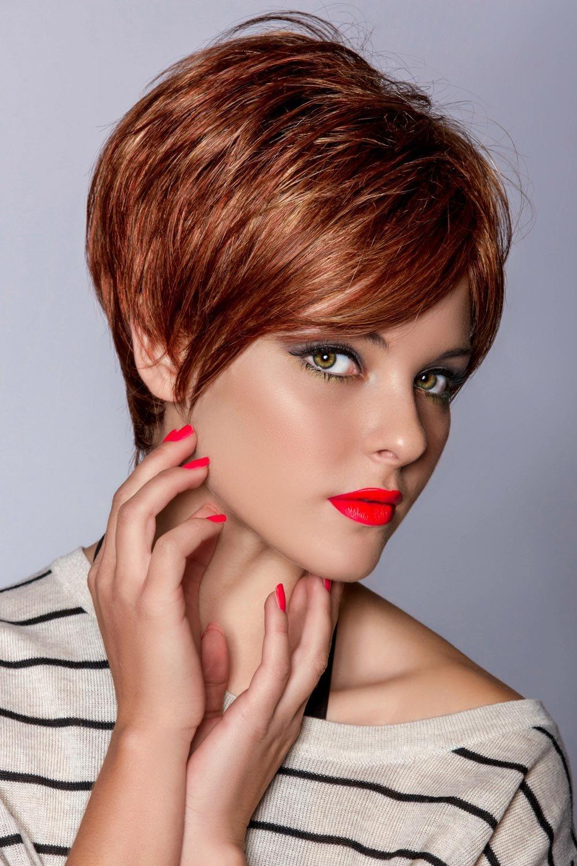 модное окрашивание на короткие волосы фото находится