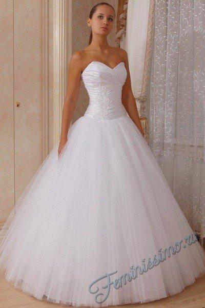 Фото свадебные платья пышные с корсетом