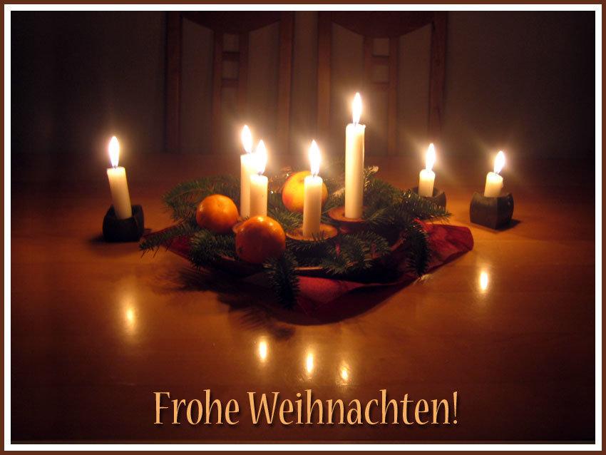 Видео, открытка с рождеством на немецком языке