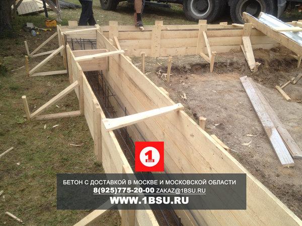 бетон М350 с доставкой для ленточного фундамента