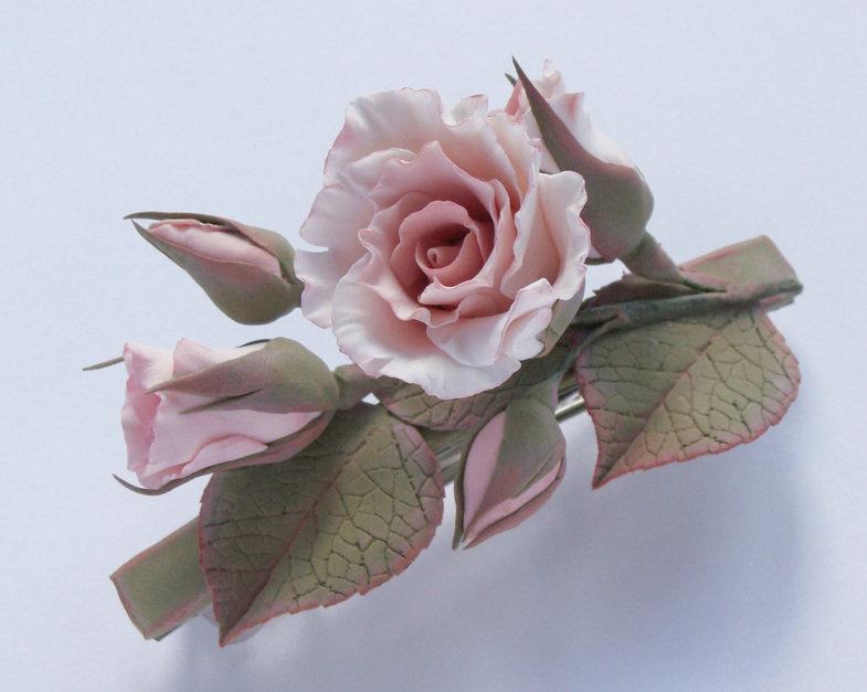 картинки розы из глины сохранились
