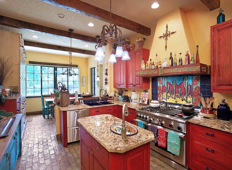 Как можно украсить кухню