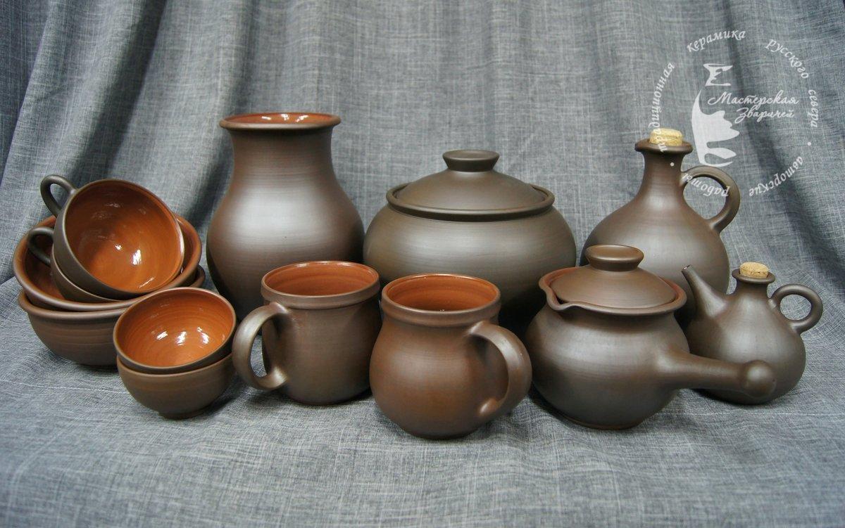 Картинки с керамической посудой