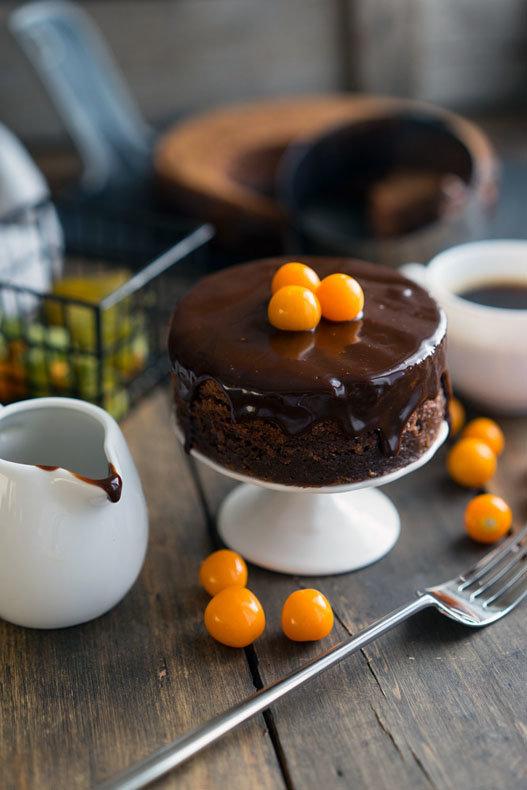 Шоколадно-ореховый торт - удивляем любимых в День Святого Валентина