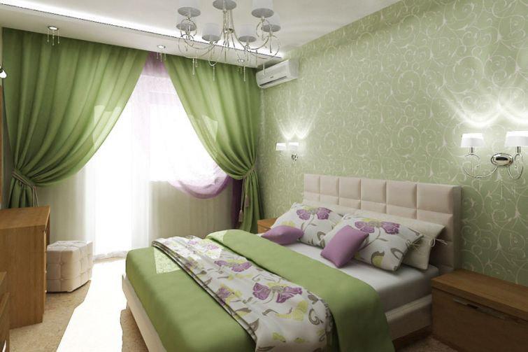 Зеленые спальни